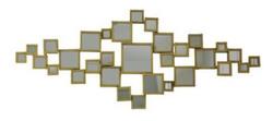 Casa Padrino luxury mirror / wall mirror gold 124 x H. 52 cm - Designer Furniture