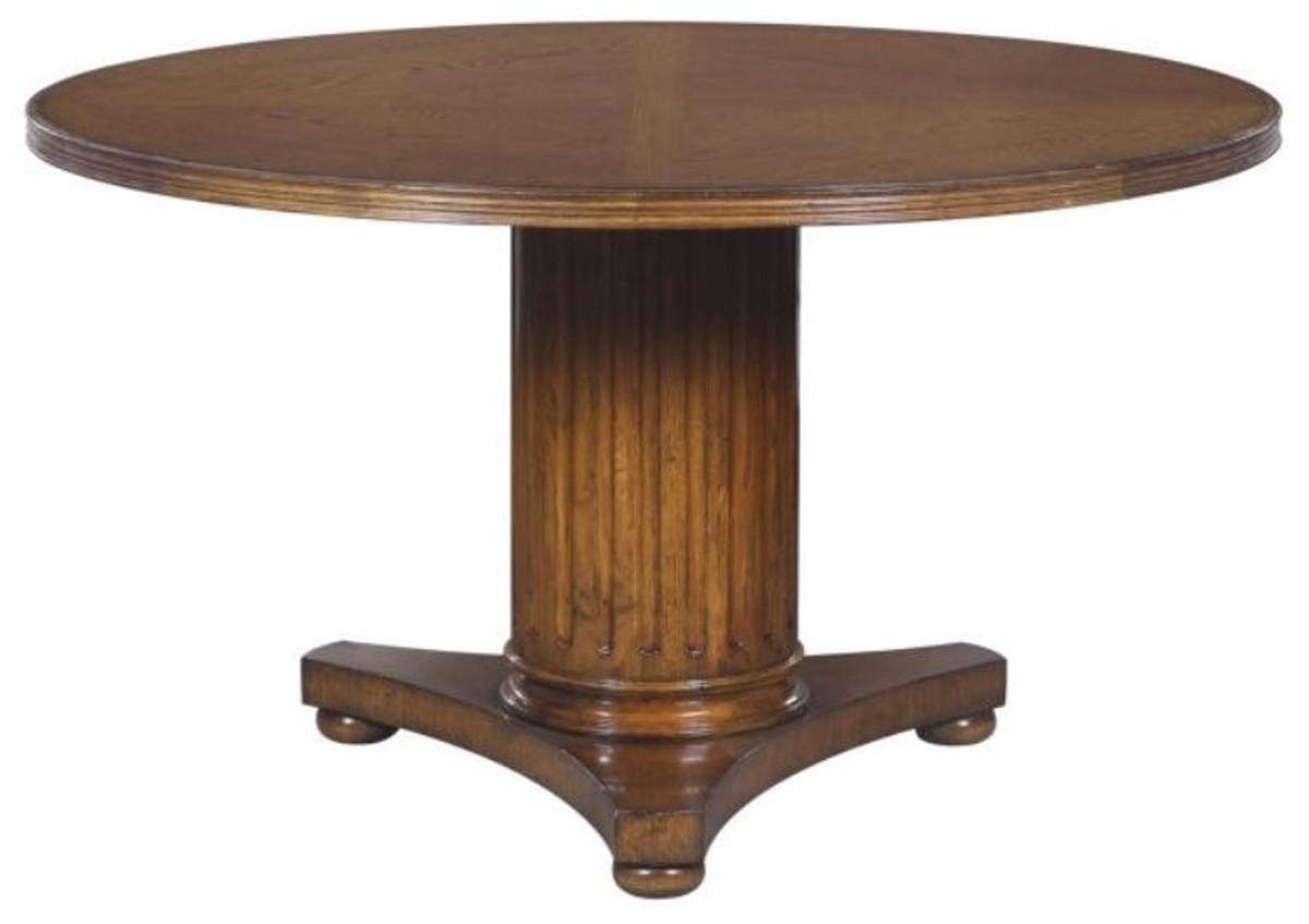 Casa padrino luxus eichenholz esstisch braun 135 x h 78 for Eichenholz esstisch