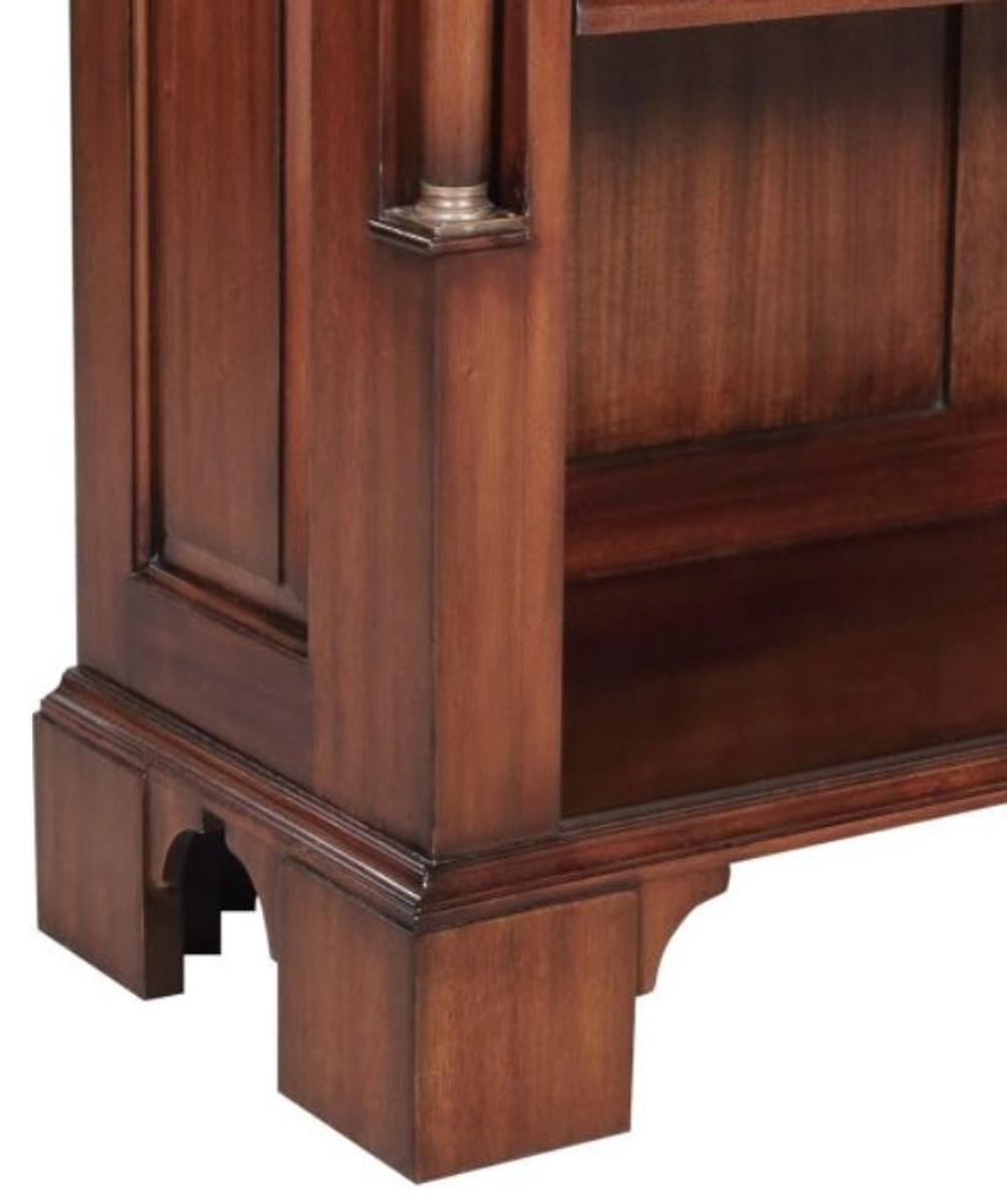 Casa Padrino Luxus Barockstil Bücherschrank / Regalschrank Braun 103 x 32 x H. 185,5 cm - Barock Wohnzimmermöbel 3