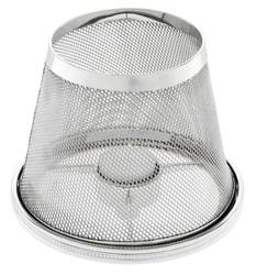 Casa Padrino luxury tealight holder lampshade silver Ø 16 x H. 13.5 cm - Hotel & Restaurant Accessoires