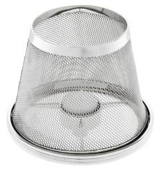 Casa Padrino Luxus Teelichthalter-Lampenschirm Silber Ø 16 x H. 13,5 cm - Hotel & Restaurant Accessoires