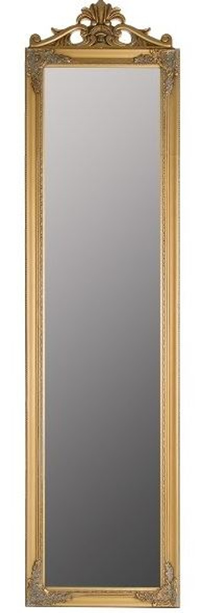 Casa Padrino Baroque Standing Mirror Gold With Beautiful Antique