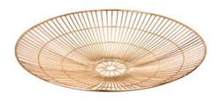 Casa Padrino Luxury Tray Gold Ø 43 x H. 7 cm - Round Serving Tray