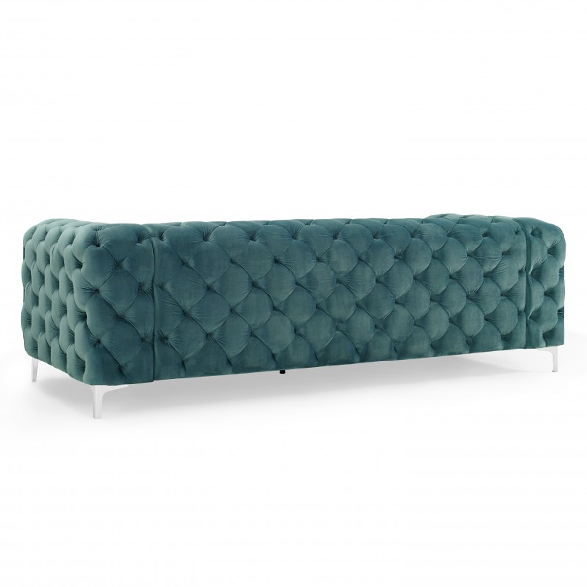 Casa Padrino Chesterfield Sofa in Aqua 238 x 97 x H. 73 cm - Modern Chesterfield 2