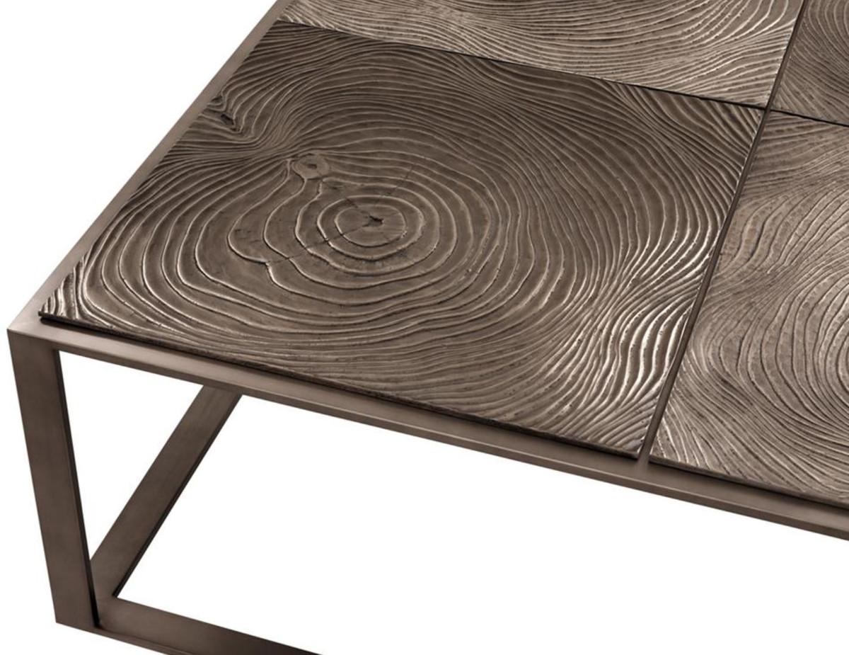 - Casa Padrino Luxury Coffee Table / Living Room Table Pink-bronze