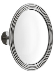 Casa Padrino Mirror / Convex Mirror Silver Ø 35 cm - Luxury Collection