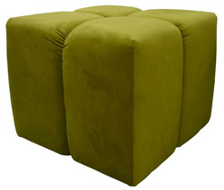 Casa Padrino luxury stool green 60 x 60 x H. 50 cm - Living Room Furniture