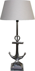 Casa Padrino luxury table lamp silver / Lamp shade cream - stool lamp - Luxury Collection