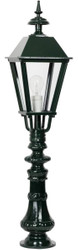 Casa Padrino Baroque Garden Lantern / Garden Lamp 22 x 22 x H. 95 cm - Various Colors - Weatherproof Garden Terraces Outdoor Lamp