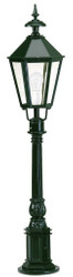 Casa Padrino baroque garden terraces outdoor floor lamp 22 x 22 x H. 107 cm - Various Colors - Weatherproof Garden Lantern