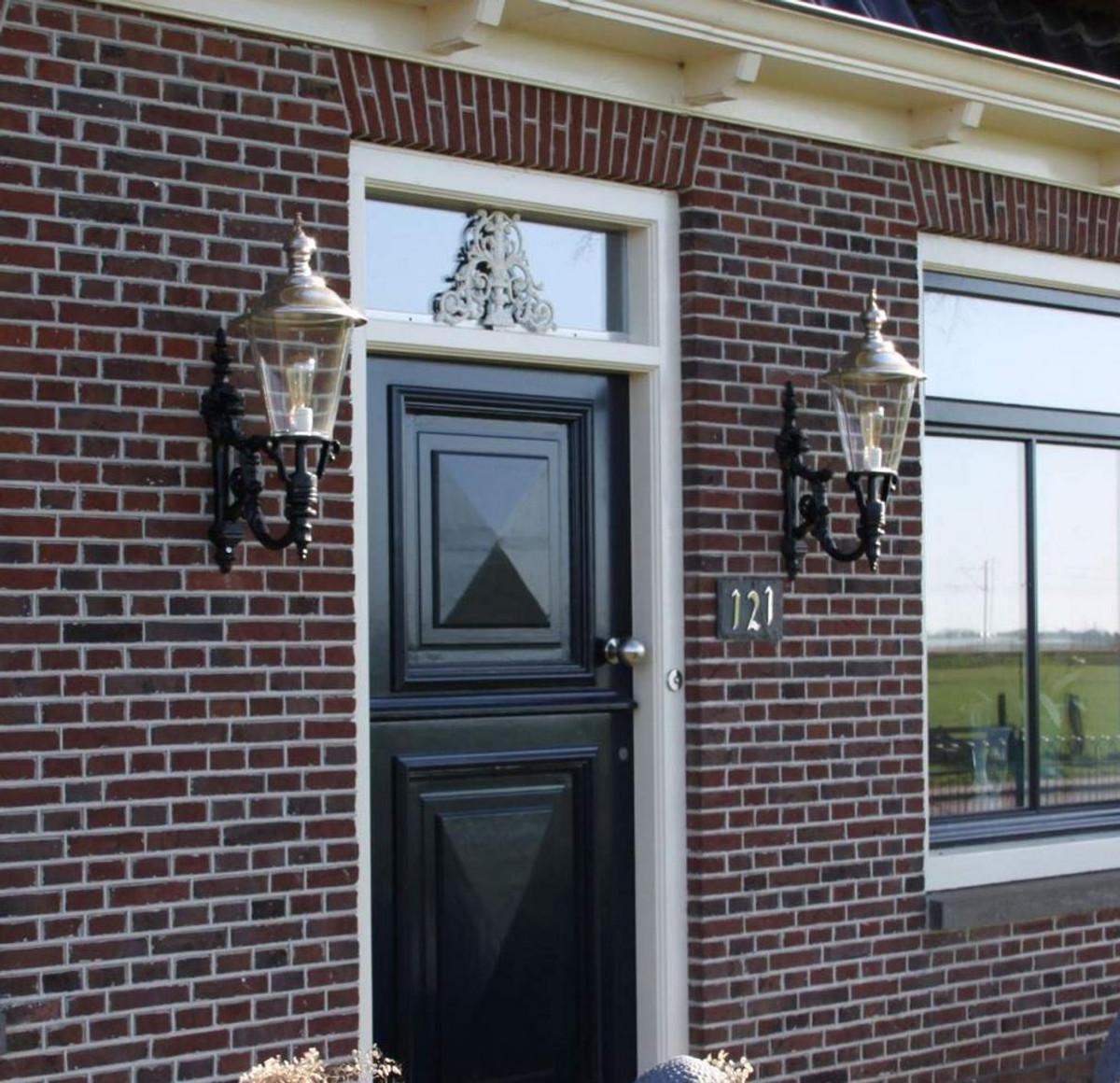 Casa Padrino Jugendstil Außenwandleuchte 29 x 45 x H. 74 cm - Verschiedene Farben - Außenbeleuchtung 4