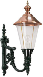 Casa Padrino Art Nouveau Exterior Wall Light 29 x 45 x H. 74 cm - Various Colors - Exterior Lighting