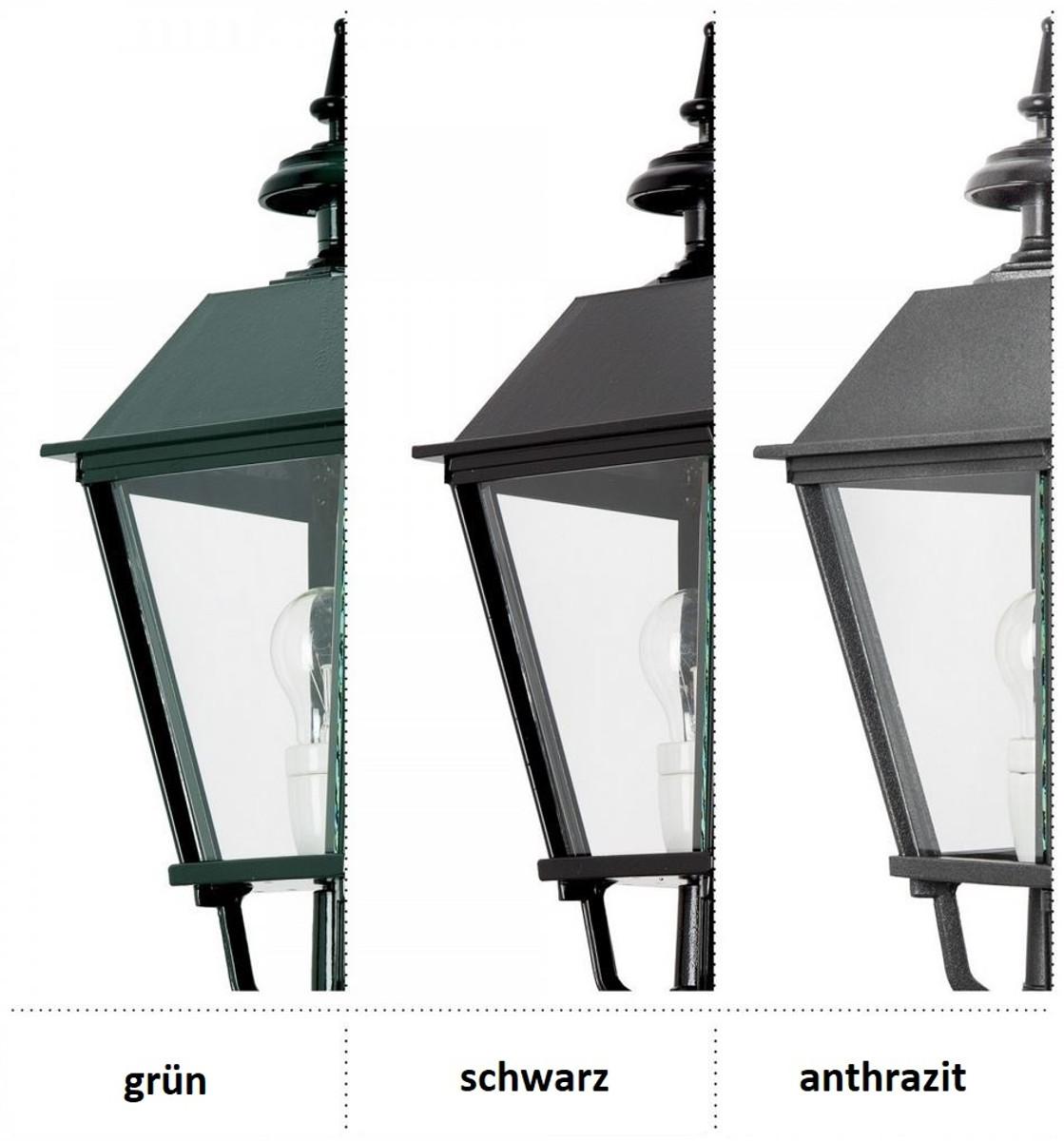 Casa Padrino Barock Gartenlaterne / Außenstehleuchte 82 x 82 x H. 320 cm - Verschiedene Farben - Luxus Qualität 3