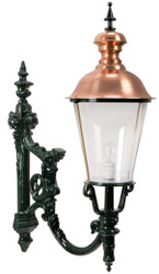 Casa Padrino baroque outdoor lamp 37 x 62 x H. 104 cm - Various Colors - Weatherproof Outdoor Wall Light