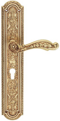 Casa Padrino Art Nouveau door handle with top french gold 16 x H. 35.2 cm - Hotel & Restaurant Accessoires