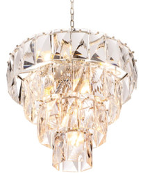 Casa Padrino luxury crystal glass chandelier Ø 60 x H. 65 cm - Noble & Sumptuous