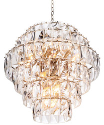 Casa Padrino luxury crystal glass chandelier Ø 80 x H. 80 cm - Noble & Sumptuous