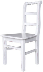 Casa Padrino country style dining chair 48 x 41 x H. 93 cm - Various Colors - Kitchen Chair in Shabby Chic Look