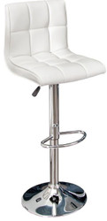 Casa Padrino designer bar chair imitation leather white - bar stools - furniture restaurant hotel