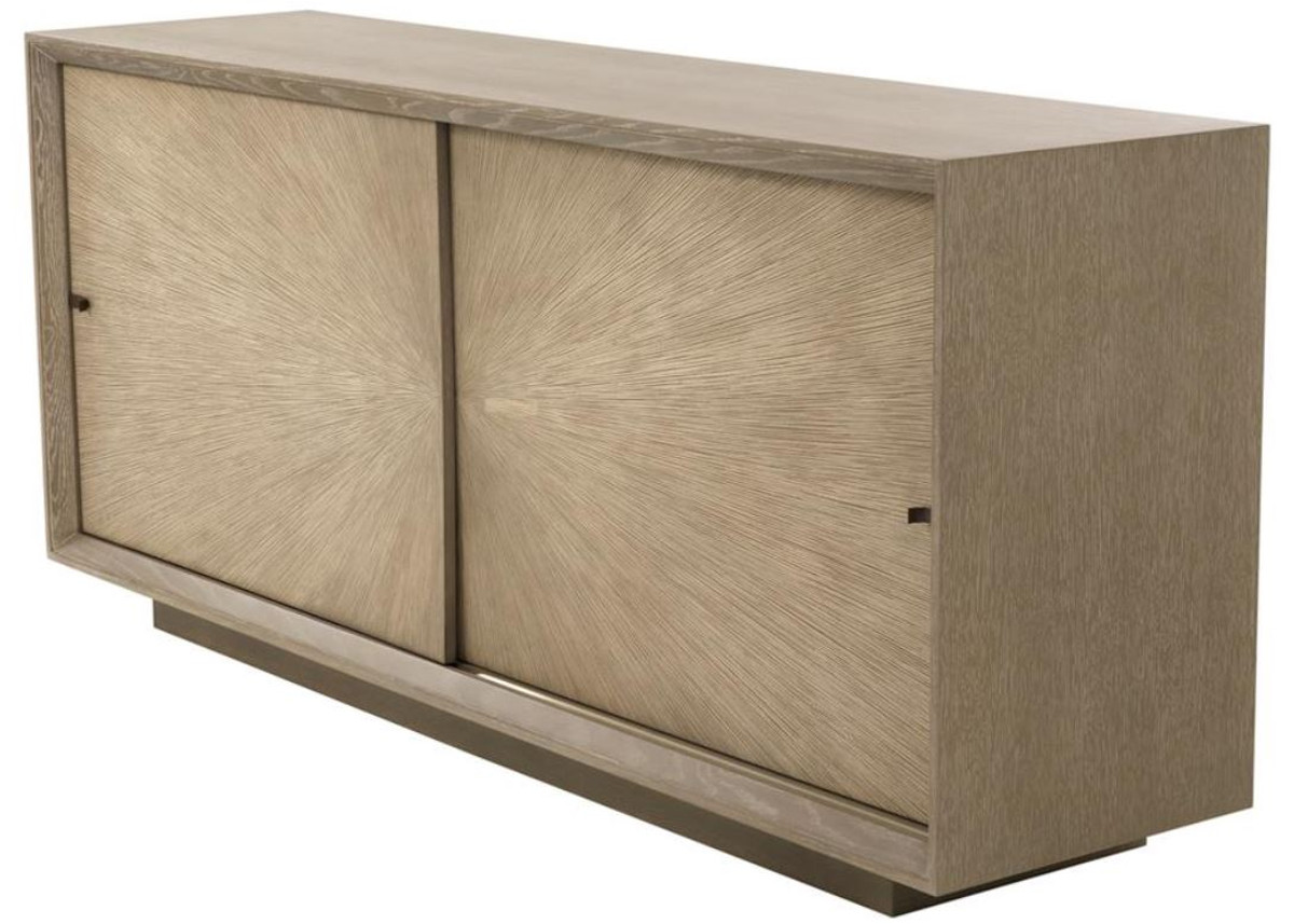 Casa Padrino Luxury Sideboard With 2 Sliding Doors Brown 180 X 45 X