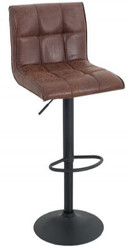 Casa Padrino Designer Bar Chair Vintage Brown - Bar Stools - Furniture Restaurant Hotel