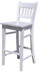 Casa Padrino Country Style Bar Chair 47 x 47 x H. 107 cm - Assorted colors - Country Style Shabby Chic Furniture