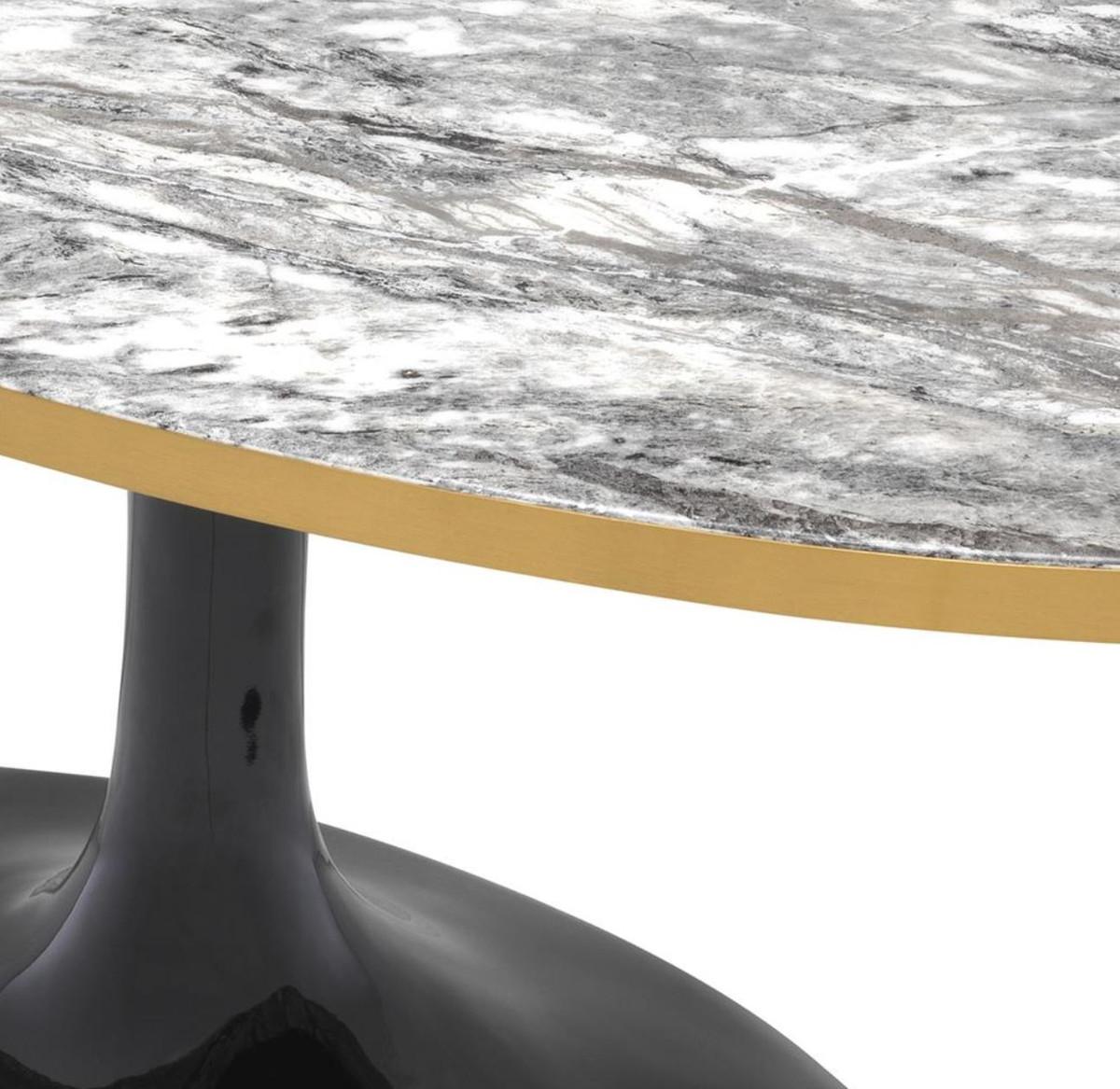 Casa padrino luxus couchtisch grau messing schwarz 120 for Wohnzimmertisch 60 x 120