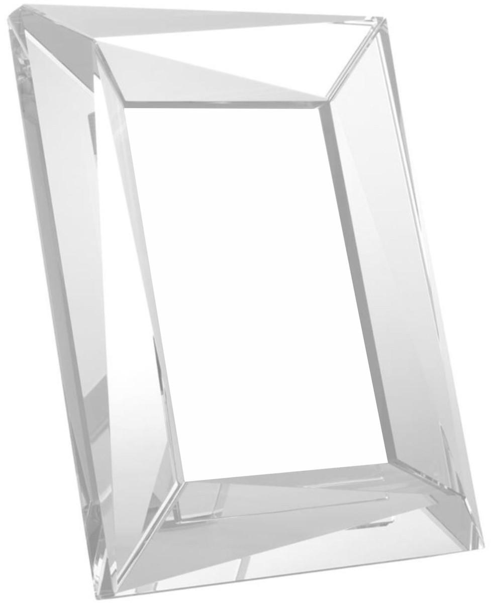 Casa Padrino Luxus Kristallglas Tisch-Bilderrahmen Set 18 x 3,5 x H ...