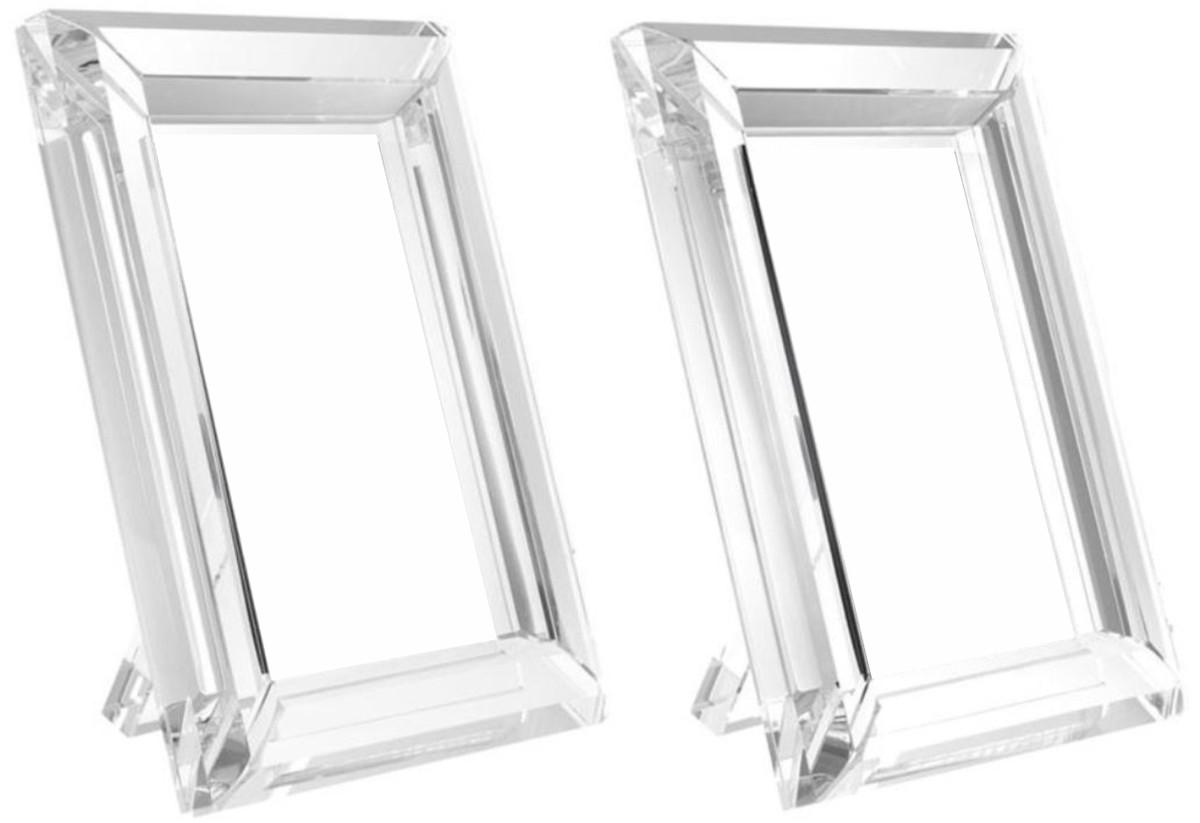 Casa Padrino Tisch-Bilderrahmen Set 16 x 2,5 x H. 21,5 cm - Luxus ...
