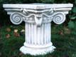 Casa Padrino Barock Säule / Blumensäule 58 x 58 x H. 42 cm - Prunkvolle Gartensäule im Barockstil – Bild 1