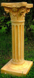 Casa Padrino baroque pillar / flower column 29 x 29 x H. 74 cm - Magnificent garden pillar in baroque style