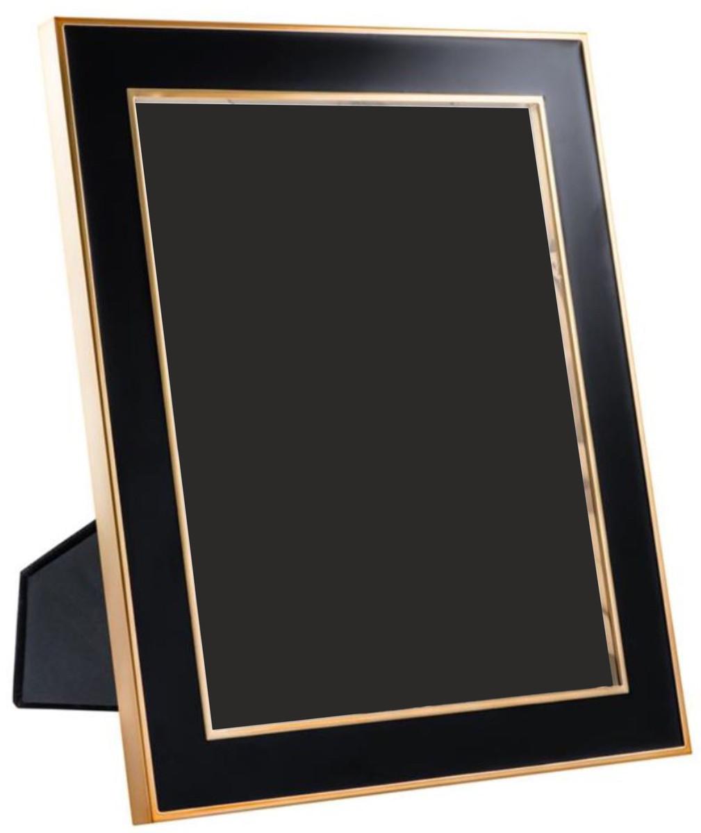 Casa Padrino Tisch-Bilderrahmen 6er Set Schwarz / Gold 25 x H. 30,5 ...