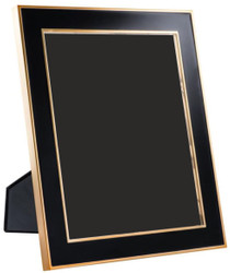 Casa Padrino Table Picture Frame Set of 6 Black / Gold 25 x H. 30.5 cm - Luxury Decoration Accessories