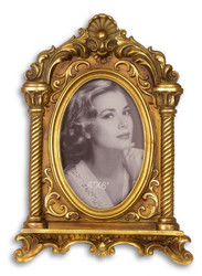 Casa Padrino Baroque Picture Frame Antique Gold H 26 cm, W 18.9 cm - SPECIAL!