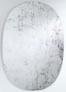 Casa Padrino Designer Wandspiegel Schwarz 76 x H. 110 cm - Luxus Wohnzimmer Spiegel
