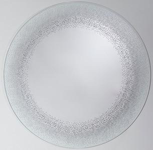 Casa Padrino Luxus Spiegel / Wandspiegel Ø 80 cm - Luxus Möbel
