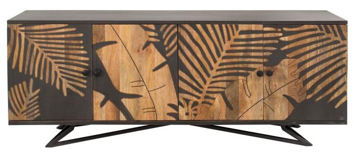 casa padrino designer kommode sideboard 175 x 45 x fernsehschrank handgefertigt aus. Black Bedroom Furniture Sets. Home Design Ideas