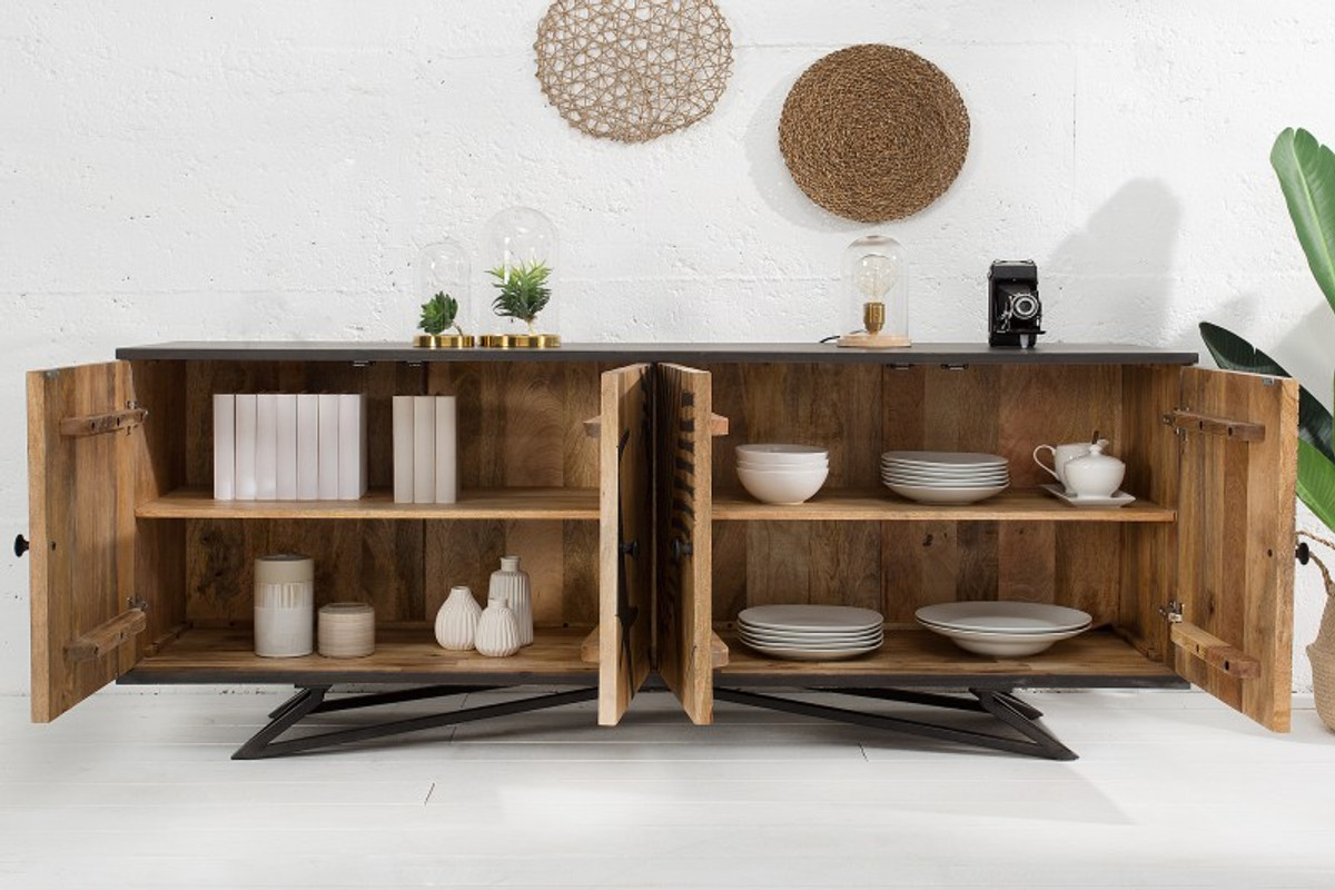La Bella Vita Credenza : Credenza a cassettiera design casa padrino 175 x 45 mobile tv h