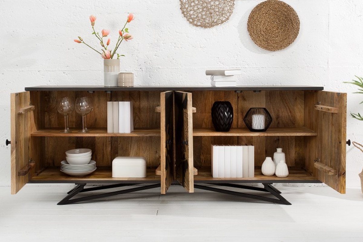 Casa Padrino Designer Kommode Sideboard 175 X 45 X H 75cm