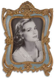 Casa Padrino Baroque Picture Frame Antique Gold 19.5 x H. 28.5 cm - Magnificent Table Picture Frame in Baroque Style