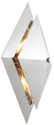 Casa Padrino Luxus Wohnzimmer Wandleuchte Silber 26 x 11,5 x H. 39 cm - Designer Leuchte