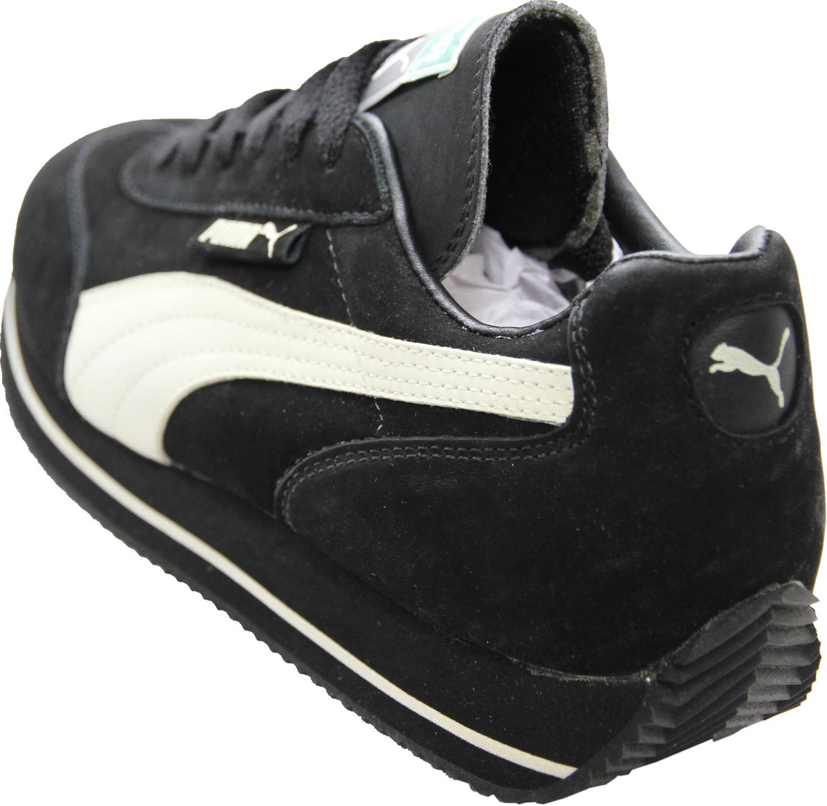 Puma Shoes Street Cat Nubuck Black Sand Running Sneaker Sneaker