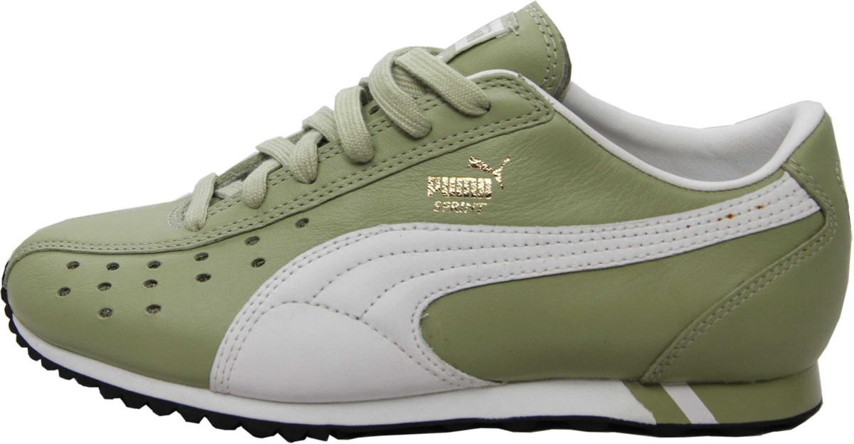 9e889b55 Puma Shoes Sprint Sage Green / White / Black - Running Sneaker Sneakers