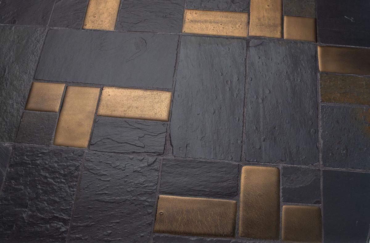 Casa padrino tavolino da caffè di lusso multicolore nero x
