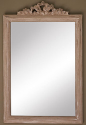Casa Padrino Baroque Mirror / Wall Mirror Antique Beige 41 x H. 63 cm - Baroque Furniture