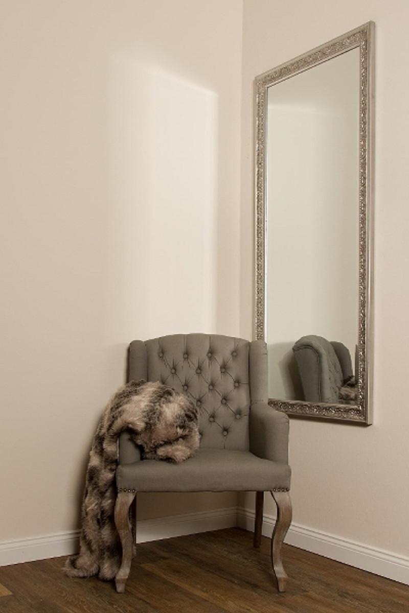casa padrino barock spiegel silber 72 x h 162 cm. Black Bedroom Furniture Sets. Home Design Ideas