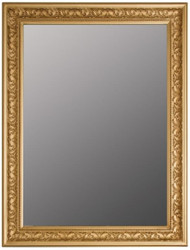 Casa Padrino Baroque Mirror / Wall Mirror Gold 62 x H. 82 cm - Furniture in Baroque Style