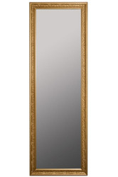 Casa Padrino Baroque Wall Mirror Gold 62 x H. 187 cm - Handcrafted Mirror in Baroque Style