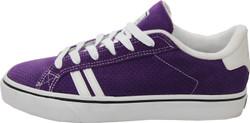Emerica Skateboard Schuhe Leo SMU Purple - Sneaker Sneakers Skateboard Shoes Lila Weiß 001
