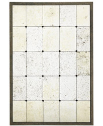 Casa Padrino luxury wall mirror 85 x H. 125 cm - Designer Mirror with Steel Frame in Antique Look